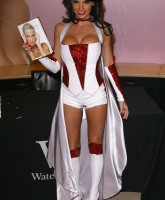 Katie Price and her weird outfit