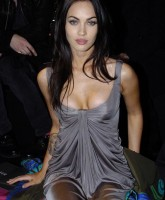 Megan Fox is leggy