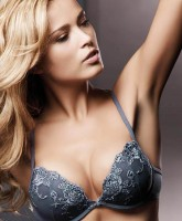 Petra Nemcova fits lingeries in all the right places