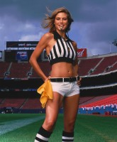 Heidi Klum as referee