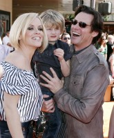 Jenny McCarthy attends movie premiere