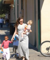 Angelina Jolie is proud mommy