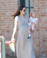 Angelina Jolie is one proud mommy
