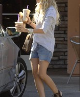Ashley Tisdale wearing Shorts