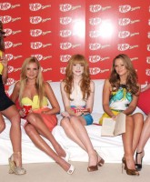 Girls Aloud and Kit-Kat