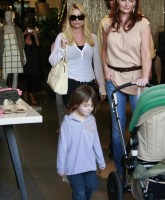 Nicollette Sheridan strolls through LA