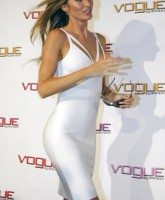 Gisele Bundchen in white outfit