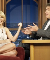 Kylie Minogue chats with Craig Ferguson