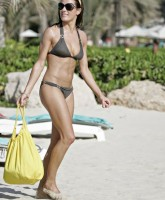 Natalie Pinkham at the beach