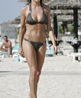 Natalie Pinkham in swimwear