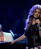 Fergie onstage live