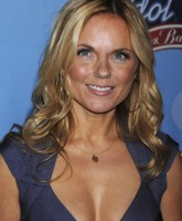 Geri Halliwell almost Spills Out