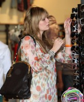 Mischa Barton is Spring Shopping
