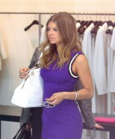 Stacy Fergie Ferguson goes shopping