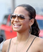 Christina Milian sunglasses