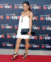 fashionable Christina Milian