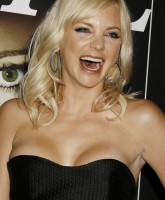 Anna Faris almost pops out