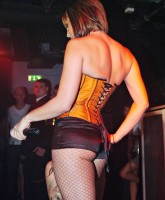 Chanelle Hayes' back