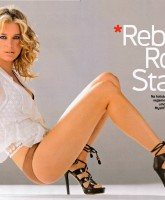 Rebecca Romijn fierce in Esquire