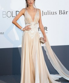 Alessandra Ambrosio Stuns On The Red Carpet At Cannes