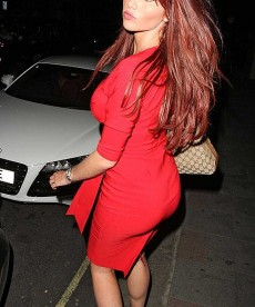 Amy Childs Shows Off Her Body