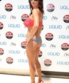 Arianny Celeste Celebrates Independence Day In Vegas