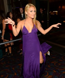 Cassie Scerbo Looks Lovely In Purple