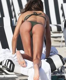 Claudia Galanti Spends A Little More Bikini Time On The Beach