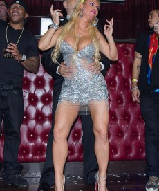 Coco Austin Rings In The New Year With Ice T.