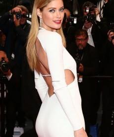 Doutzen Kroes Knocks 'Em Dead At Cannes