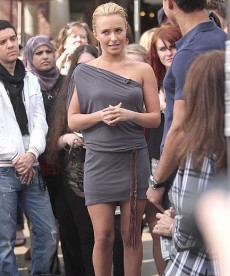 Hayden Panettiere At The Grove