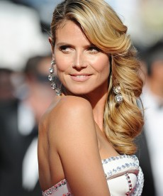 Heidi Klum Dazzles At Cannes
