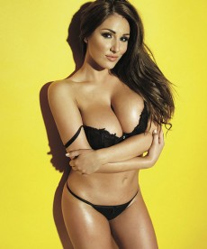 Lucy Pinder Has Large Breasts And Other Massive Understatements