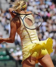Maria Sharapova Upskirt And Ass Shots