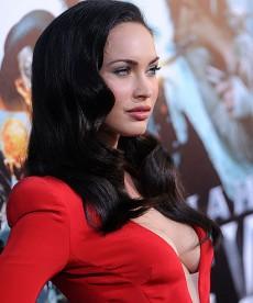 Megan Fox In Revealing Red Dress
