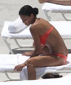 Nicole Scherzinger Shows Off Her Bikini Body