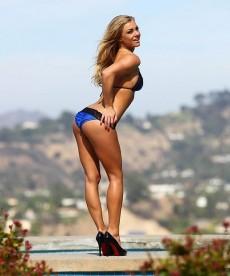 Sexy Bikini Photoshoot Of Playboy Playmate Nikki Leigh