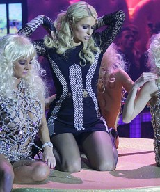 Paris Hilton Can't Dance But Is Great At Posing